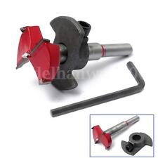 33mm Forstner Woodworking Boring Wood Hole Saw Cutter Drill Bit With Guide HOT
