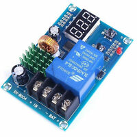 DC 6V-60V Programmable Digital Battery Charge Controller Protection Switch