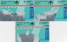 Telefoonkaart / Phonecard Nederland R008.01-03 ongebruikt - Tele Art Vogels