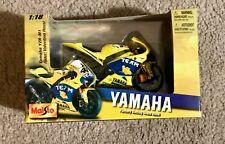 Maisto 1:18 Valentino Rossi Yamaha YZR M1 2006 MotoGP Diecast Model