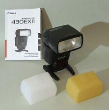 Canon Speedlite 430EX II Aufsteckblitz plus Zubehör
