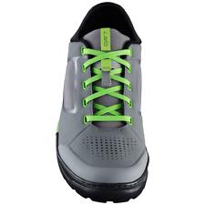 New Shimano GR7 Men's Enduro Trail Off Road Bike Shoes - Grey / Green - Size 43