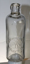 AUGUSTA GA BREWING CO HUTCHING SODA BOTTLE