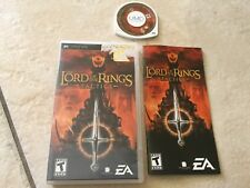 THE LORD OF THE RINGS TACTICS  (Sony PSP, 2005)
