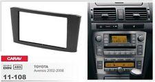 CARAV 11-108-22-6 Fascia Install dash Kit for for TOYOTA Avensis T25 double DIN