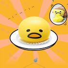 1X Gudetama Vomiting Egg Tricky Toy Yolk Eaten Back Shocker Joke Angry Vent Toys