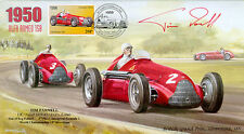1950b ALFA ROMEO 158s SILVERSTONE F1 cover signed TIM PARNELL