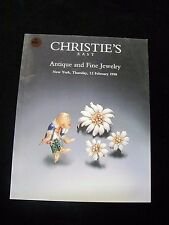 +A960 OLD PAWN CHRISTIE'S EAST ANTIQUE AND FINE JEWELRY NY THURSDAY 12 FEB. 1998