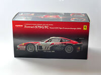 KYOSHO 1/18 FERRARI 575 GTC TEAM G.P.C SPA FRANCORCHAMPS YEAR 2004