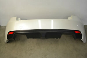 Subaru Impreza WRX STI Rear Bumper Cover Panel Trim White Genuine Oem 2008-2014