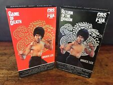 Set of 2 Bruce Lee VHS Game of Death + Return of the Dragon CBS Fox Movies