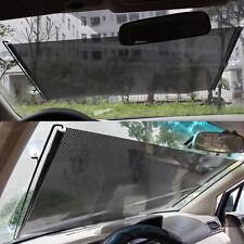 45 x125 Car Auto Front Rear Windshield Sun Shade Shield Cover Visor Retractable