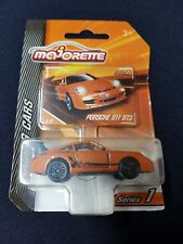 Majorette 1:64 Porsche 911 GT3 Orange Racing Cars Series 1