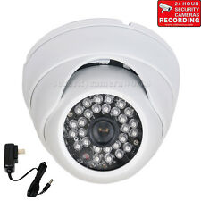 "Security Camera Weatherproof IR with 1/3"" Sony Effio CCD 600TVL Wide Angle bvx"