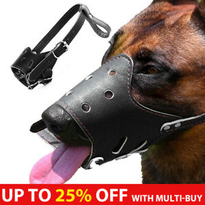 Adjustable Dog Muzzle Basket Mouth Cover Anti-Barking Anti-Biting Anti-Chewing