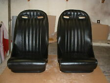 AUSTIN HEALEY NEW LEATHER 100-6 & 3000 ROAD RACING SEATS