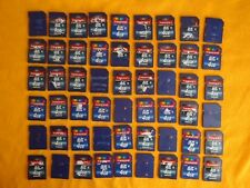 LOT 100 Transcend 4gb SD Cards Class 6, Used