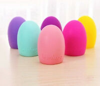 Egg Cleaning Glove MakeUp Washing Brush Scrubber Board Cosmetic Cleaner SA