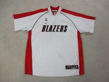 VINTAGE Nike Portland Trailblazers Jersey Adult Extra Large Shooting Shirt 90s *