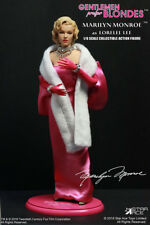 "Marilyn MONROE - Lorelei Lee Rose Robe 1/6 Figurine 12"" Star Ace Toys"