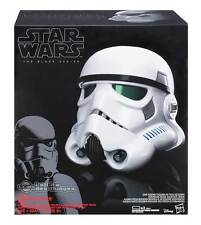 Star Wars The Black Series Stormtrooper Electronic Voice Changer Helmet Casque