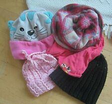 ✿ bekleidungspaket 5neuw baby mützen sooooo süß 48-50 + gratis kuscheltier 1