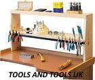 Jeweler's Bench Shelf Wood Stand Workstation Organizer Tools Beads Blocks Pliers