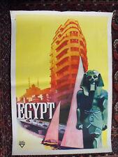 Íhap Hulusi Gröey - Egypt - Orig.-Plakat, wohl 40er/50er Jahre, m. Druckvermerk