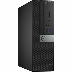 Dell Optiplex 3040 SFF, CORE i3-6100@3.7Ghz, 8GB RAM, 500GB HDD, Win 10 Pro