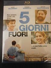 5 GIORNI FUORI FILM IN BLU-RAY NUOVO DA NEGOZIO ANCORA INCELLOFANATO AFFARE !!!