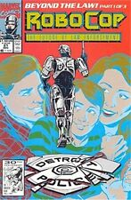 ROBOCOP 21 1990 MARVEL SERIES FUTURE OF LAW ENFORCEMENT NM