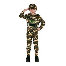 Army Commando Halloween Costume Boys Size Large Helmet Totally Ghoul
