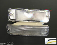 FOR TOYOTA HILUX PICKUP 89-95 CLEAR BUMPER LIGHT 1990 1991 1992 1993 1994 1995