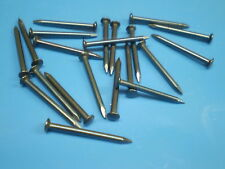 25 acier inox V2A pointes de fil de fer tête de Vis ongles 2,5 x 50