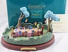 "WDCC Enchanted Places ""A Tea Party in Wonderland"" in Box with COA"