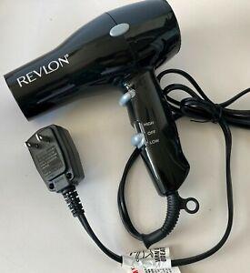 REVLON Essentials Compact Red Hair Styler Black Dryer E1