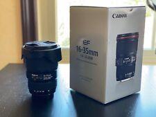 Canon EF 16-35mm f/4 L IS USM Lens - Black (9518B002)