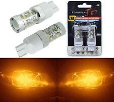 LED Light 50W 7440 Amber Orange Two Bulbs Front Turn Signal Replace Upgrade