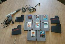 Vintage Nintendo NES Lot Games & Controllers
