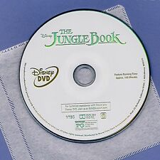 Disney The Jungle Book 2016 PG family movie, DVD disc and sleeve Murray Kingsley
