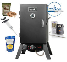 Meat Smoking Starter Kit - Hark Gas Smoker / Maple Cure / Maverick ET-72
