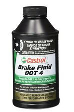 Castrol 12509 Dot 4 Brake Fluid 12 Oz 1 pk,