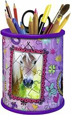 Puzzle 3 D  54 pièces Girly Girl Pot à Crayons 7+ - systeme Easyclick