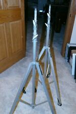 2 Colortran Light Stands with wheels - Studio Light Stand Professional Grade