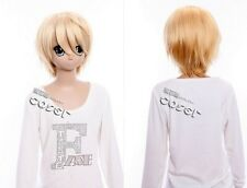 W-43 BLACK BUTLER Kuroshitsuji Alois Trancy Cosplay Parrucca Wig anime bionda