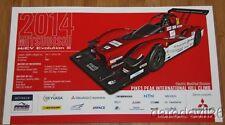 2014 Mitsubishi Motorsports MiEV Evolution III Electric PPIHC postcard