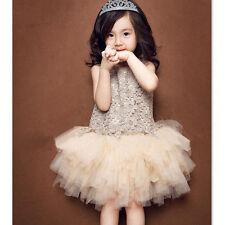 NWT Girl size 6 STUNNING Lace & Ruffled Overlay TUTU Chiffon Low Waist DRESS 6