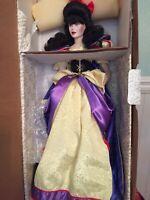 "Franklin Mint Heirloom Snow White Doll 19"""
