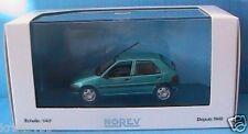 CITROEN SAXO VERT POLYNESIEN 5 PORTES NOREV 155150 1/43 GREEN DE 1996