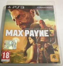 MAX PAYNE 3 GIOCO PS3 PLAYSTATION 3 ITALIANO OTTIMO SPED GRATIS SU + ACQUISTI